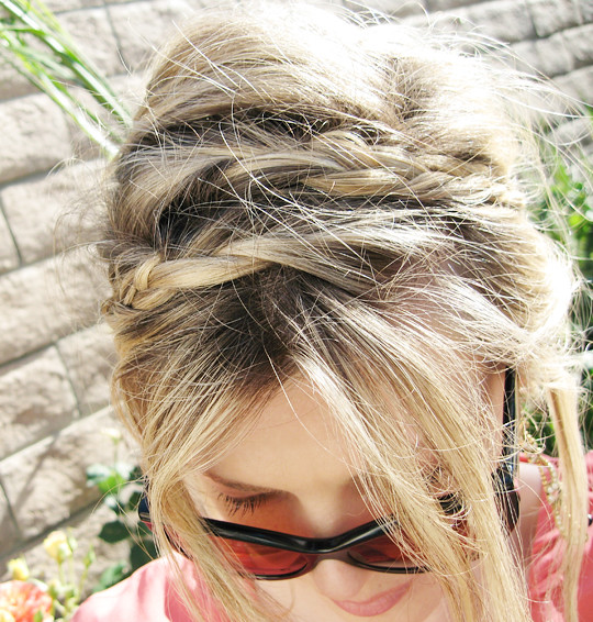 braids in hair how to 2