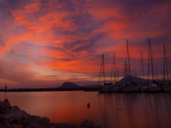 "Long Exposure @ 13"" (Ilias Orfanos) Tags: longexposure sunset sea clouds boats olympus greece patras thegalaxy impressedbeauty hoyand4 hoyand8 theunforgettablepictures coth5 mygearandmepremium mygearandmebronze mygearandmesilver mygearandmegold mygearandmediamond mygearandmeplatinium"