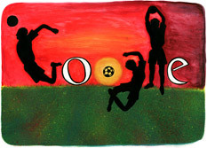 Google France World Cup Logo