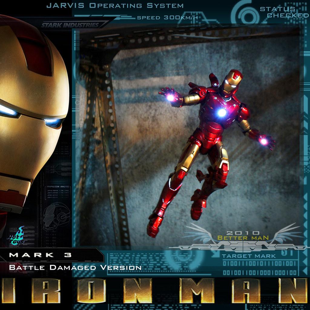 Hot Toys Iron Man MARK III Battle Damaged Version...Photo-shooting 2