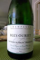 """Egly-Ouriet """"Les Vignes de Vrigny"""" Premier Cru Brut"""