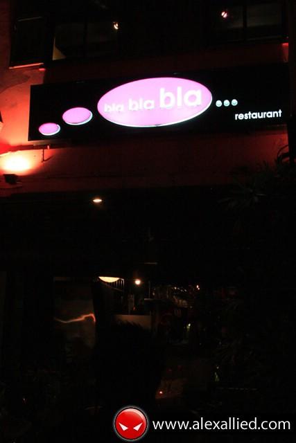 Bla Bla Bla Restaurant, Kuching