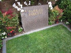 I visited Farrah at Westwood Memorial Park. (04/27/2010)