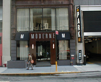 Moderne Hotel New York Exterior