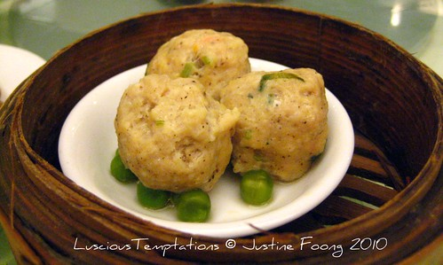 Steamed Black Pepper Chicken Balls - Marco Polo, Wisma Lim Foo Yung