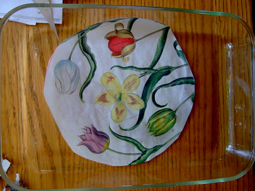 Tutorial: Decoupage Under Glass (3)