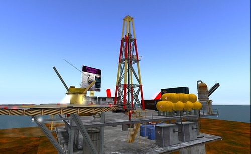 SL: Oil Spill Simulation