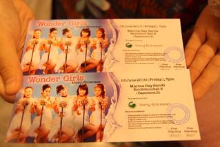 Sony Ericsson Wonder Girls Showcase