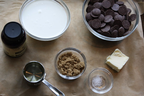 hot fudge ingredients
