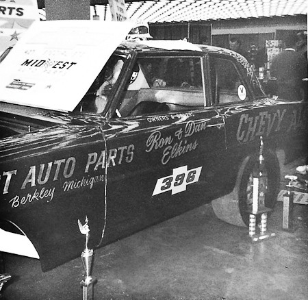 Chevy Also Funny Car at Detroit Autorama