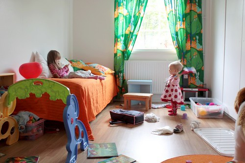 Nieces' playing room