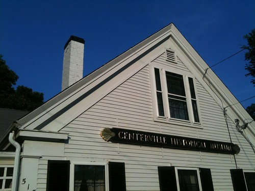 Centerville Historical Museum and Blue Sky