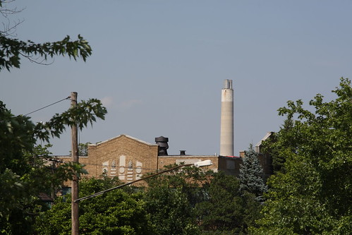 Incinerator in Detroit Michigan