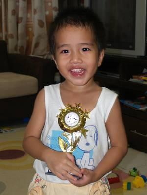 Julian's trophy