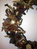 Handmade Wreath details (TzoFeltedGood) Tags: wooden handmade wreath handcrafted ξυλο χειροποιητο κοχυλια στεφανι