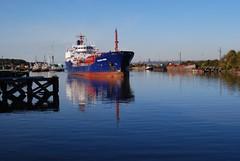 Leaving the Mersey (Thirteensteps13) Tags: uk water liverpool river britain mersey waterway wirral merseyside rnbmersey