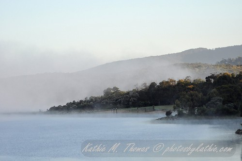 Lysterfield Lake - Mist in the Morning