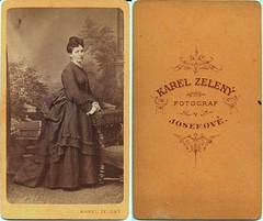 Unidentified Victorian  Lady (josefnovak33) Tags: lady de cdv visite carte josefov