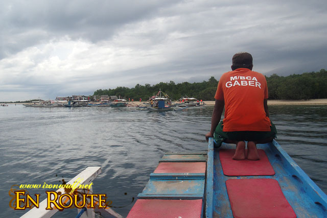 Arriving at Snake Island