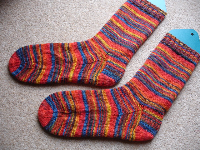 Michael's stripy socks number 3