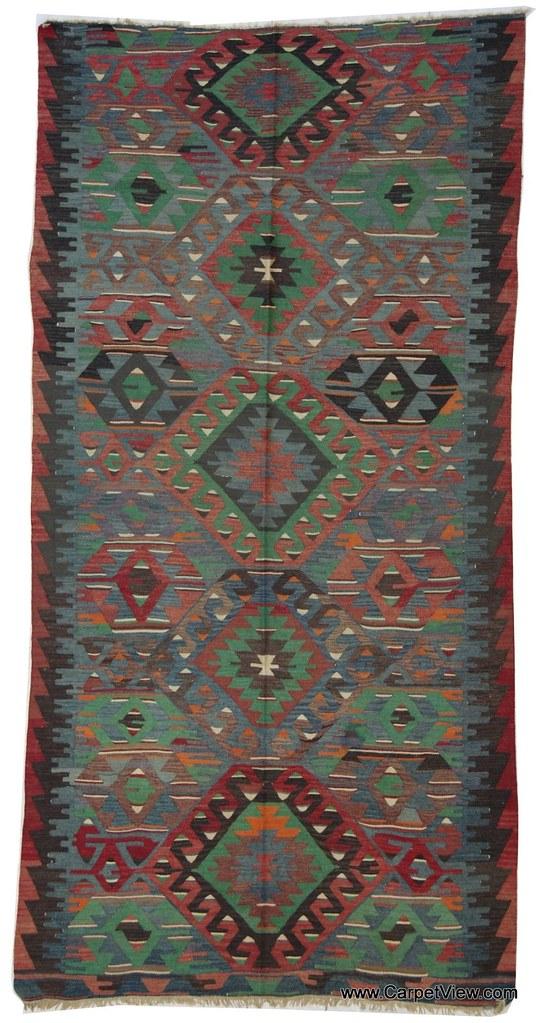 Anatolian Kelim Oriental rug