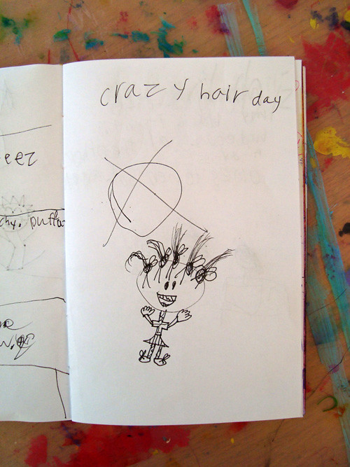 art-journal-crazy-hair-day