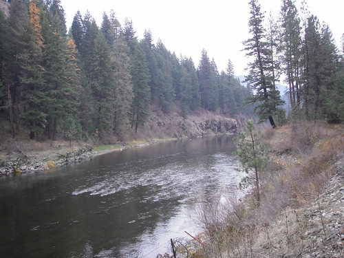 The Wallowa River near Kimmel