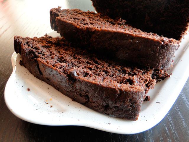 Cake Chocolat Banane Sans Gluten