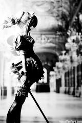 Saber Alter (maid version) (VisualFanfare) Tags: white black anime macro castle stockings japanese hall bucket dress gothic goth apron figure blonde saber ribbon figurine alter mop maid jfigure saberalter