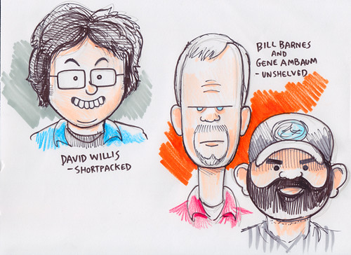New England Webcomics Weekend sketches #5