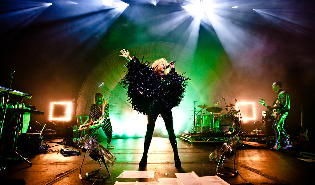 Goldfrapp live at Hammersmith Apollo