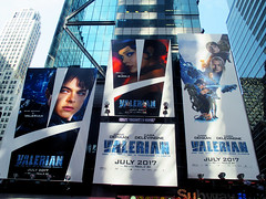 Valerian and the City of a Thousand Planets Billboard Poster 8181 (Brechtbug) Tags: valerian city thousand planets billboard poster times square nyc 2017 french science fiction comics series from 1967 valérian laureline written by pierre christin illustrated jeanclaude mézières film movie directed luc besson new york 07012017