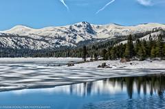 Caples Lake, west of Carson Pass, Spring breakup (Alaskan Dude) Tags: travel california carsonpass sr88 landscape scenery nature lakes mountains redlake capleslake hdr 5photosaday