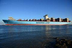 Emma Maersk DST_1419 (larry_antwerp) Tags: maersk emmamaersk container 9321483 schip ship vessel 船 船舶 אונייה जलयान 선박 کشتی سفينة schelde 斯海尔德河 スヘルデ川 스헬더 강 رود شلده سخيلده