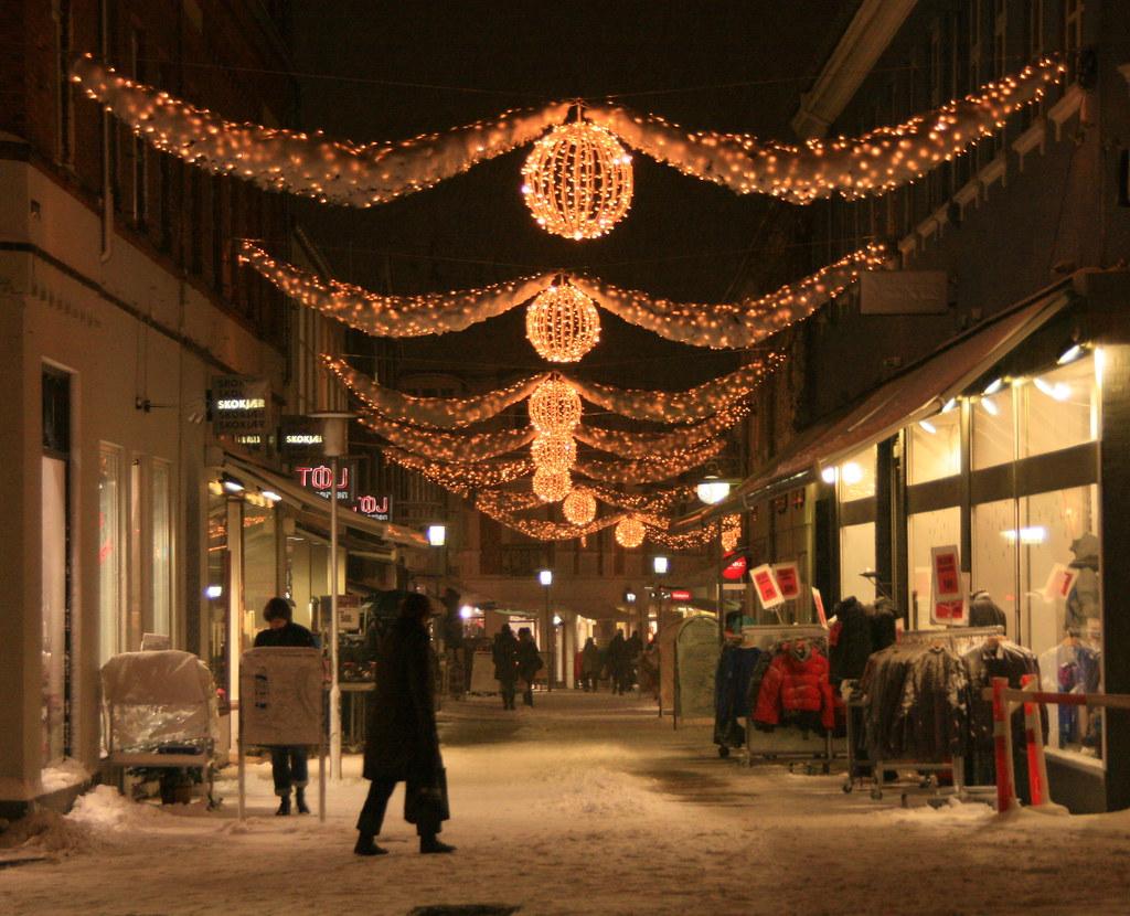 Viborg i sne ved juletid 4