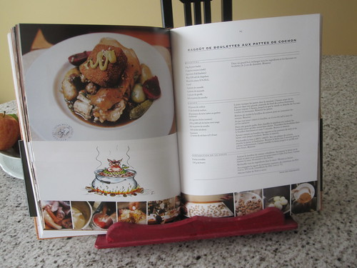 Our recipe, from Le Pied de cochon book.