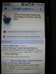 google goggles search