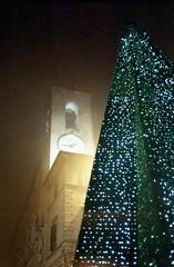 Christmas in Osimo (Spizzio) Tags: christmas xmas mju olympus stylus agfa expired albero natale epic mjuii ancona pandoro mju2 osimo senzatesta