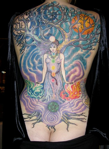 Wiccan Goddess Tattoo as…