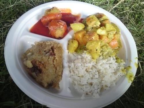 Hare Krishna food at Falls Festival 09/10