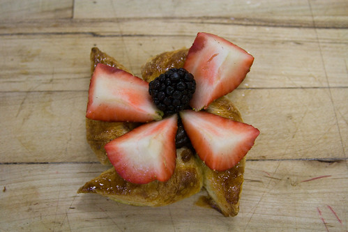 Danish Strawberry Pinwheel