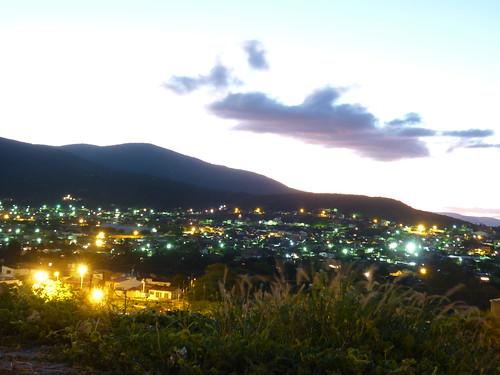 Luzes noturnas da Cidade Sol