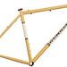 Gunnar Rock Hound Frame - 29er in Bamboo with Vanilla Shake panel