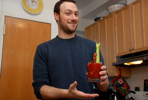 you should trust this man to make you a Bloody Mary
