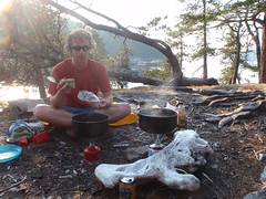 sea kayak camp cooking