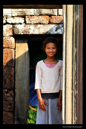 Kids in Cambodia - A Beautiful Moment