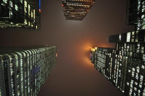 フリー画像| 人工風景| 建造物/建築物| ビルディング| 夜景| イギリス風景| ロンドン|     フリー素材|