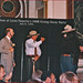 Leon Panetta and Smokey Bear Exchange Salutes -- July 8, 1994, in the Old Executive Office Building Washington (DC)