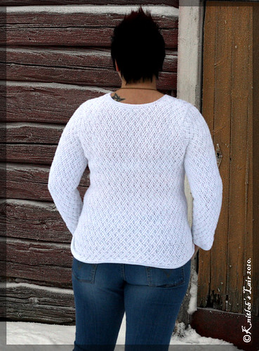 double lattice sweater 1