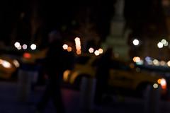 Out of focus (JenGallardo) Tags: nyc newyorkcity newyork yellow bokeh cab taxi yellowcab columbuscircle shootingfromthehip fromthehip 59 timewarnercenter 59th 59thstreet